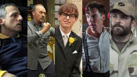 2015 Oscars - Best Actor