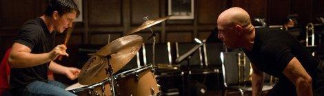 Miles Teller and J.K. Simmons in Whiplash