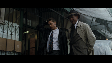Se7en starring Morgan Freeman and Brad Pitt