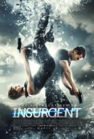Shaiilene Woodley and Theo James in Insurgent Poster