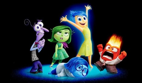 Disney Pixar Inside Out characters