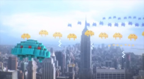 Pixels film 2015 screenshot