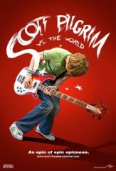 Scott Pilgrim Vs the World Cover Art, featuring Michael Cera