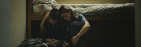 Kaitlyn Dever and Brie Larson in Short Term 12