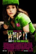 Whip It poster starring Ellen Page