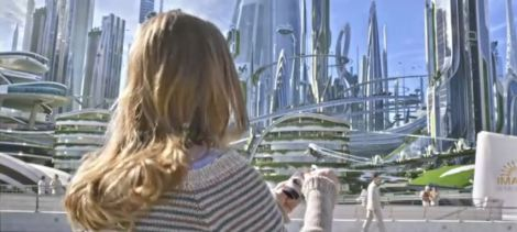 Britt Robertson in Tomorrowland