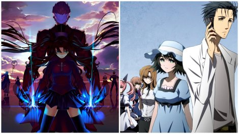 Anime mini review Steins;Gate Fate/Stay Night UBWs