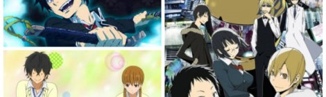 Culture Cove Anime Pocket Reviews Blue Exorcist My Little Monster Durarara!!