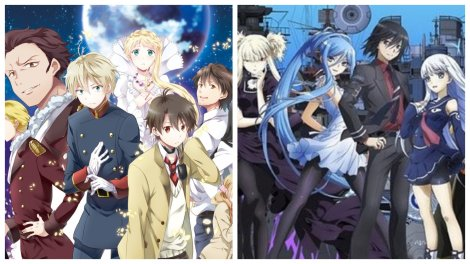 Anime Review Aldnoah Zero Arpeggio of Blue Steel