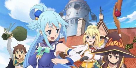 Konosuba Anime Review
