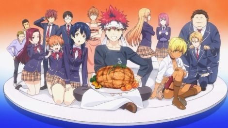 Food Wars Anime Review