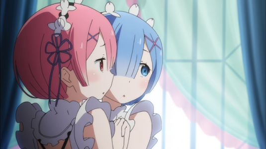 Re Zero Ram and Rem