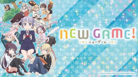 New Game Anime Review Poster