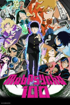 Mob Psycho 100 Anime Poster