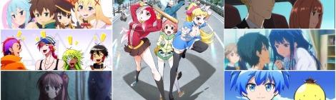 Anime Winter 17 Review - Acca, Akiba, Nanbaka, Chaos, Konosuba, Koro-Q, Masamune