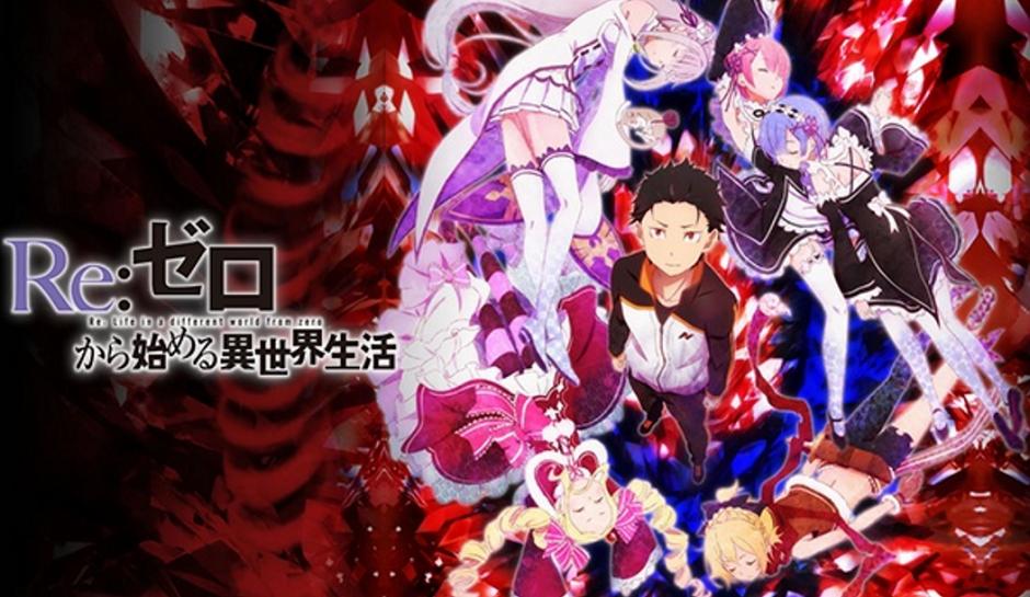 Re Zero Anime Poster