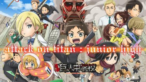 Attack on Titan Junior High Anime Review