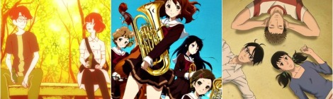 Anime Pocket Reviews Episode 35 - Sound Euphonium, The Tatami Galaxy, Kids on the Slope Anime Reviews