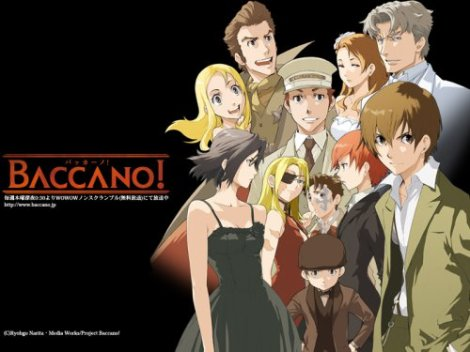 Baccano Anime Review