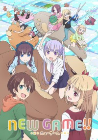 New Game!! 2 Anime Poster