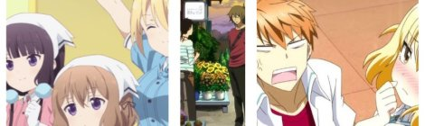 Anime Pocket Reviews Episode 46 - Blend S, Natsuyuki Rendezvous, D Frag Anime Reviews and Recommendations