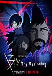 B The Beginning Killer B Anime Poster