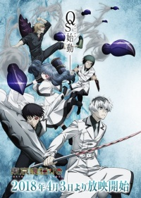 Tokyo Ghoul;re Poster