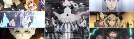 Spring 18 Review - Caligula, Dances with the Dragons, Persona 5, Food Wars 3, My Hero Academia 3, Steins Gate 0, Tokyo Ghoul re Anime