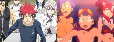 Anime Pocket Reviews Episode 51 - Food Wars Season Three, Gurren Lagann Anime Review and Recommendations