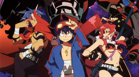Gurren Lagann Anime Review