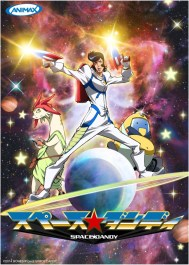 Space Dandy Anime Poster