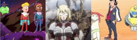 Final Space, Terra Formars, Space Dandy Anime Review and Recommendations - APR 52