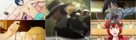 Summer 18 Anime Review - Grand Blue, Banana Fish, Attack on Titan 3, Hanebado, Cells at Work Mid-Season Reviews