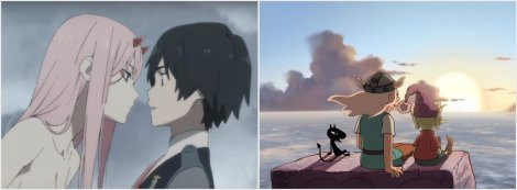 Darling in the Franxx, Disenchantment Netflix Anime Reviews
