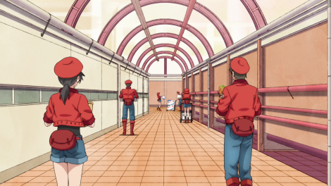 Cells at Work anime screenshot