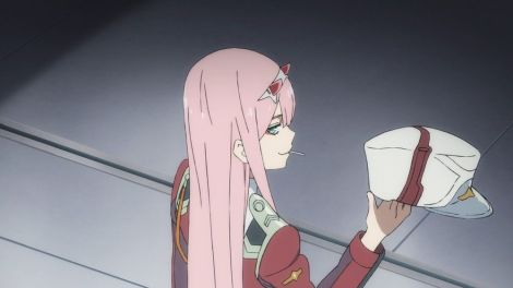 Zero-Two from Darling in the Franxx