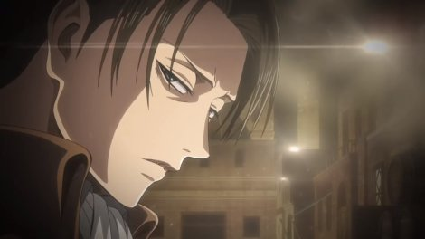 Levi from Attack on Titan Season Three