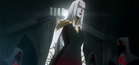 Carmilla from Castlevania anime on Netflix