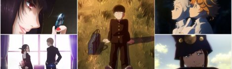 Winter 2019 Anime - Kakegurui, Kaguya-sama, Mob Psycho, Promised Neverland, Boogiepop
