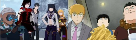 Anime Pocket Reviews Episode 60 - RWBY 6, Mob Psycho 100 2 Review and Recommendations