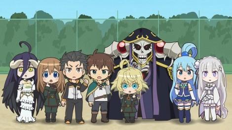 Isekai Quartet Anime Poster