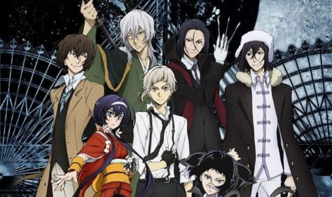 bungo stray dogs season 3 poster review