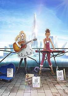 Carole and Tuesday Anime Poster