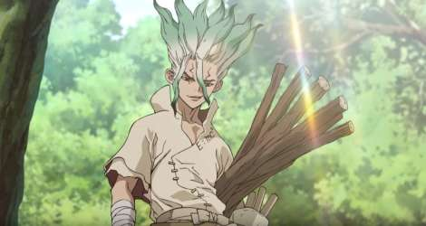 Dr Stone Anime Poster