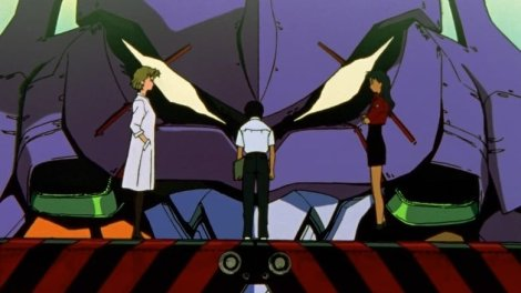 Neon Genesis Evangelion Anime Screenshot